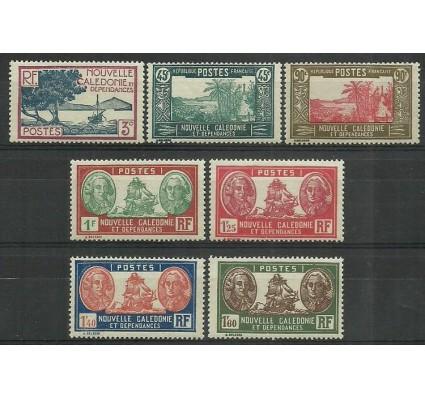 Znaczek Nowa Kaledonia 1940 Mi 222-223+225-229 Czyste **