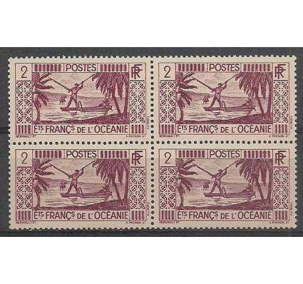 Znaczek Oceania Francuska 1939 Mi 90 Czyste **