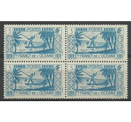 Znaczek Oceania Francuska 1939 Mi 91 Czyste **