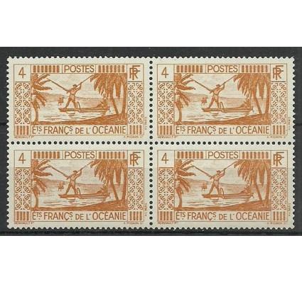 Znaczek Oceania Francuska 1934 Mi 92 Czyste **