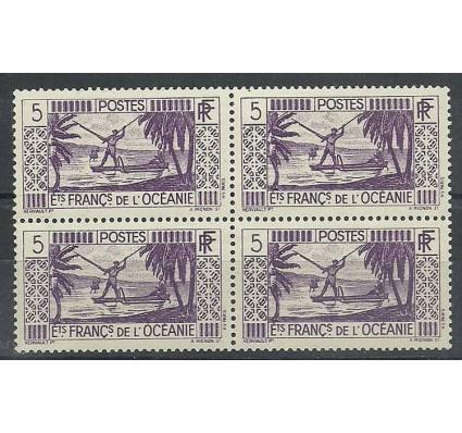 Znaczek Oceania Francuska 1934 Mi 93 Czyste **