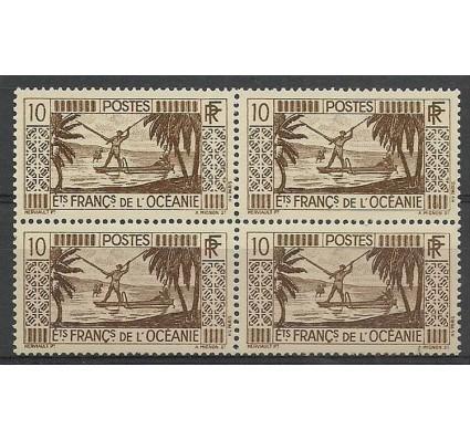 Znaczek Oceania Francuska 1934 Mi 94 Czyste **