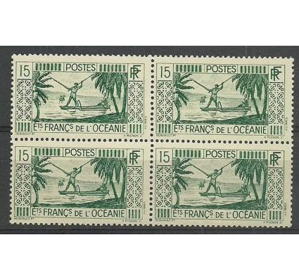 Znaczek Oceania Francuska 1934 Mi 95 Czyste **