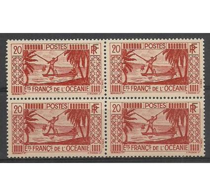 Znaczek Oceania Francuska 1934 Mi 96 Czyste **