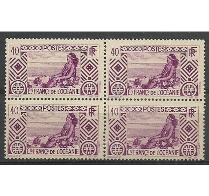 Znaczek Oceania Francuska 1934 Mi 101 Czyste **