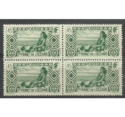 Znaczek Oceania Francuska 1939 Mi 103 Czyste **