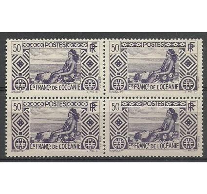 Znaczek Oceania Francuska 1934 Mi 104 Czyste **