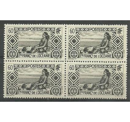 Znaczek Oceania Francuska 1939 Mi 106 Czyste **