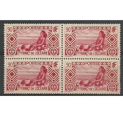 Znaczek Oceania Francuska 1934 Mi 111 Czyste **