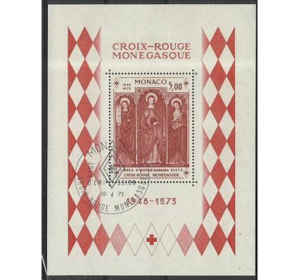 Znaczek Monako 1973 Mi bl 5 Stemplowane