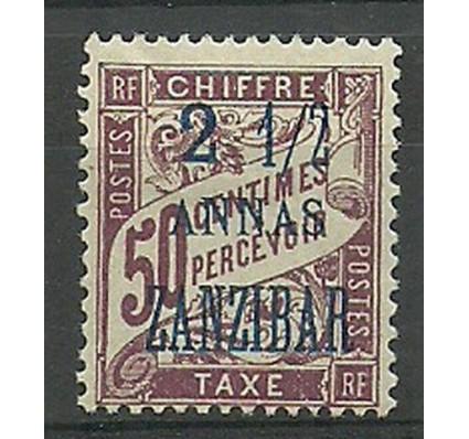 Znaczek Zanzibar 1897 Mi por 5I Z podlepką *