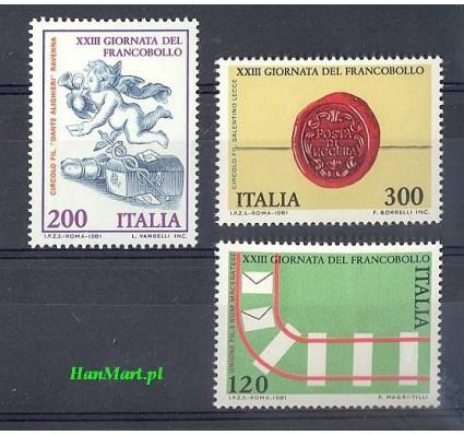 Włochy 1981 Mi 1784-1786 Czyste **