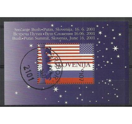 Znaczek Słowenia 2001 Mi bl13 Stemplowane
