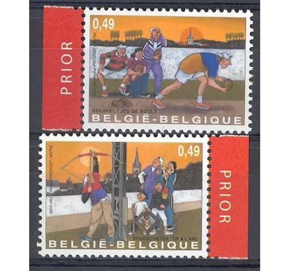 Belgia 2003 Mi 3206-3207 Czyste **