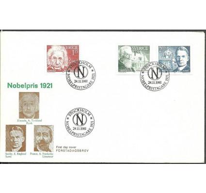 Znaczek Szwecja 1981 Mi 1175-1177 FDC