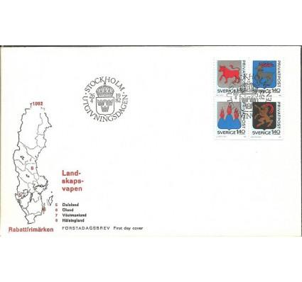 Znaczek Szwecja 1982 Mi 1189-1192 FDC