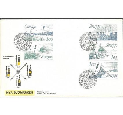 Znaczek Szwecja 1982 Mi 1196-1200 FDC