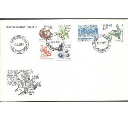 Znaczek Szwecja 1983 Mi 1219-1224 FDC