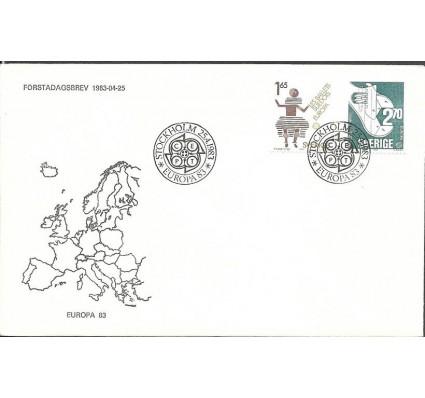 Znaczek Szwecja 1983 Mi 1237-1238 FDC