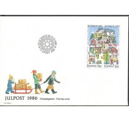 Znaczek Szwecja 1986 Mi 1409-1412 FDC