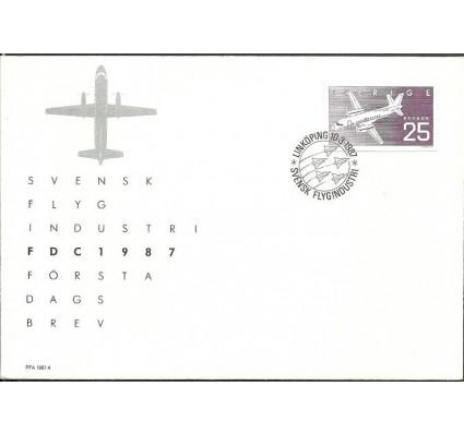 Znaczek Szwecja 1987 Mi 1427 FDC