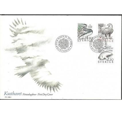Znaczek Szwecja 1988 Mi 1479-1481 FDC
