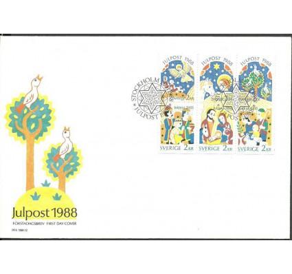 Znaczek Szwecja 1988 Mi 1510-1515 FDC