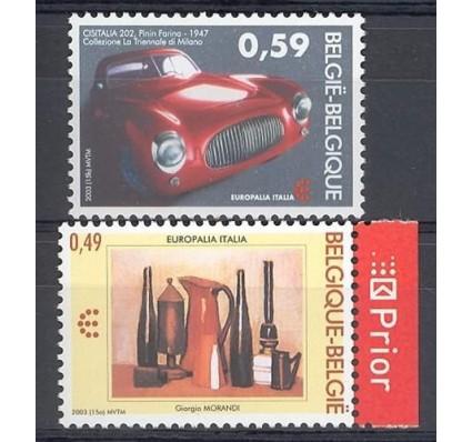 Znaczek Belgia 2003 Mi 3254-3255 Czyste **