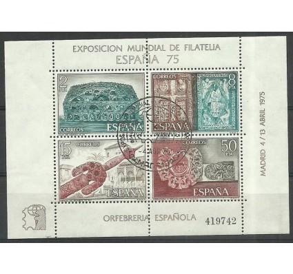 Znaczek Hiszpania 1975 Mi bl19 Stemplowane