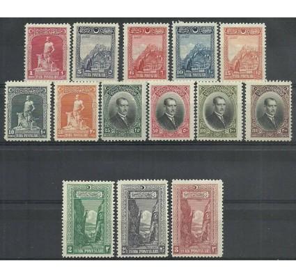 Znaczek Turcja 1926 Mi 843-856 Z podlepką *
