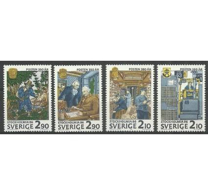 Znaczek Szwecja 1986 Mi 1399-1402 Czyste **