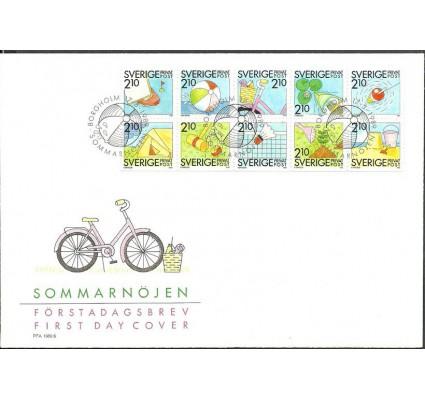 Znaczek Szwecja 1989 Mi 1539-1548 FDC