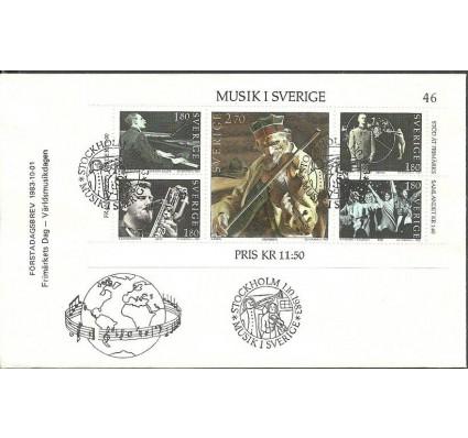 Znaczek Szwecja 1983 Mi bl11 FDC