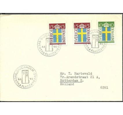 Znaczek Szwecja 1955 Mi adr404-405 FDC