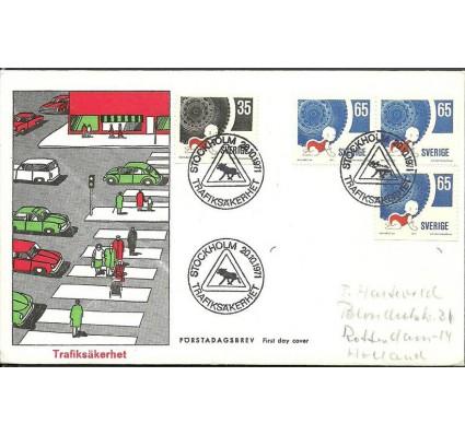 Znaczek Szwecja 1971 Mi adr721A-722Dr FDC