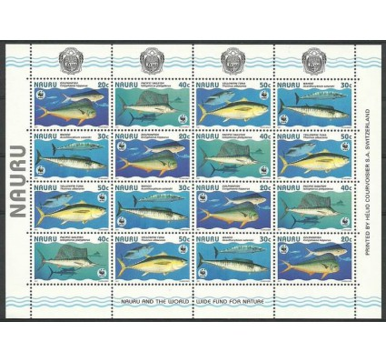 Znaczek Nauru 1997 Mi ark 437-440 Czyste **