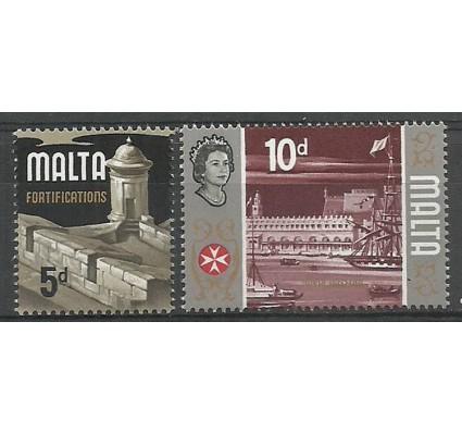 Znaczek Malta 1970 Mi 412-413v Czyste **