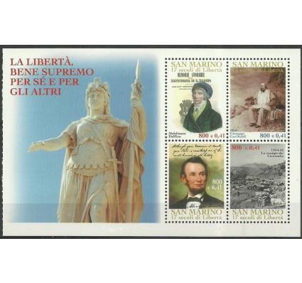 Znaczek San Marino 2000 Mi h-blatt 8 Czyste **