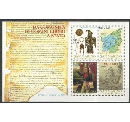 Znaczek San Marino 2000 Mi h-blatt 9 Czyste **