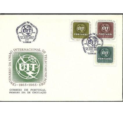 Znaczek Portugalia 1965 Mi 982-984 FDC