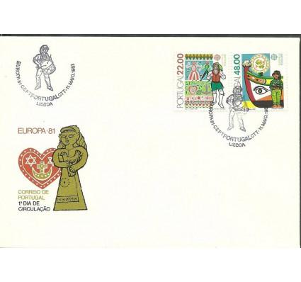 Znaczek Portugalia 1981 Mi 1531-1532 FDC