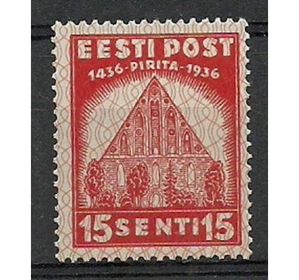Znaczek Estonia 1936 Mi 122 Czyste **