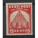 Estonia 1936 Mi 122 Czyste **