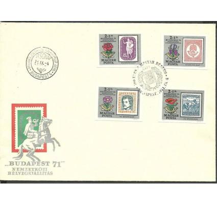 Znaczek Węgry 1971 Mi 2684-2687B FDC
