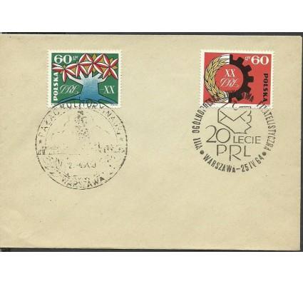 Znaczek Polska 1964 Mi 1473-1474 Fi 1325-1326 FDC