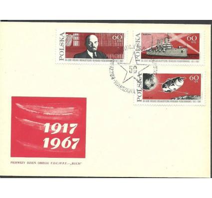 Znaczek Polska 1967 Mi 1793-1795 Fi 1644-1646 FDC