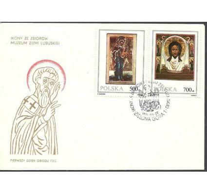 Znaczek Polska 1991 Mi 3319-3320 Fi 3171-3172 FDC