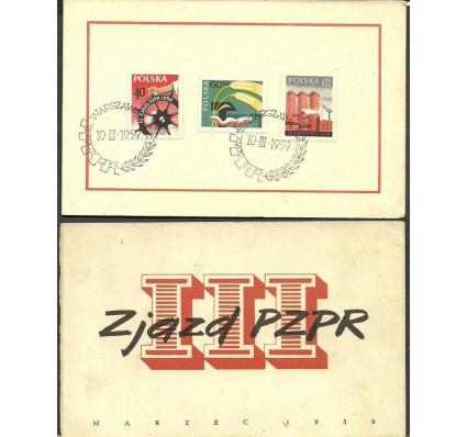 Znaczek Polska 1959 Mi kar 1090-1092 Fi kar 945-947 Stemplowane