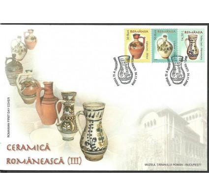Znaczek Rumunia 2005 Mi 5916-5918 FDC