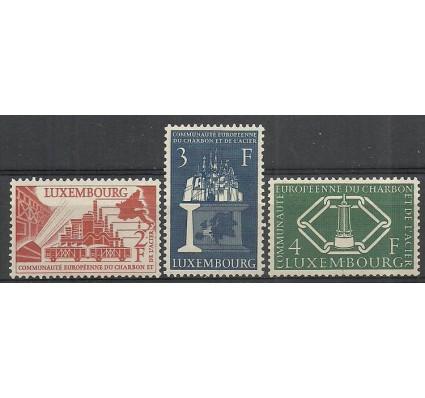 Znaczek Luksemburg 1956 Mi 552-554 Czyste **